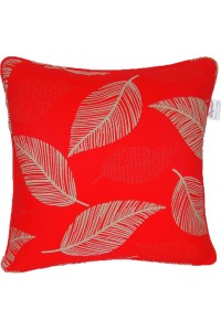 Camburi Red large outdoor throw cushion