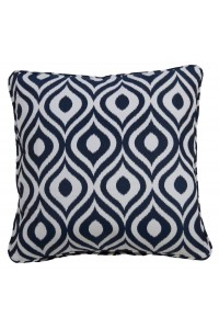 Pinamar Navy Small Throw Cushion