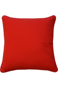 cartenza red small outdoor throw cushion