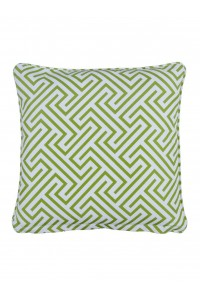Negrill Green Small Throw Cushion