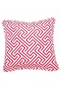 negrill red small throw cushion